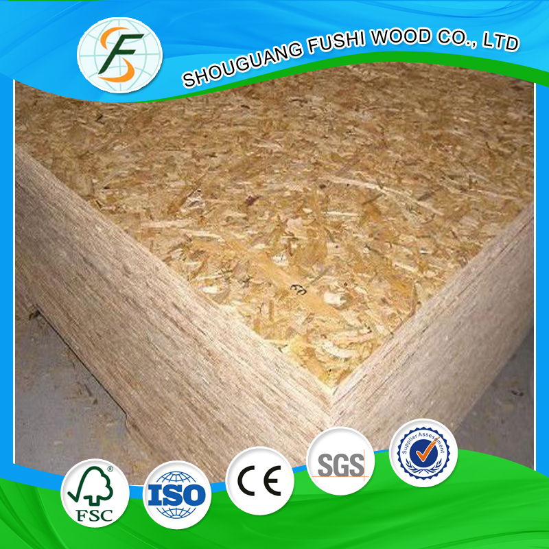 15mm Plywood Oriented Strand Board For Furniture Materials