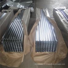 Panneaux de toiture galvanisés fabriqués en Chine