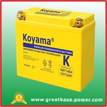 Batterie de moto de 12V 13ah (KBT14B4)