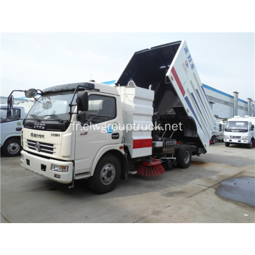 Dongfeng camion de balayeuse de machine de route plus propre