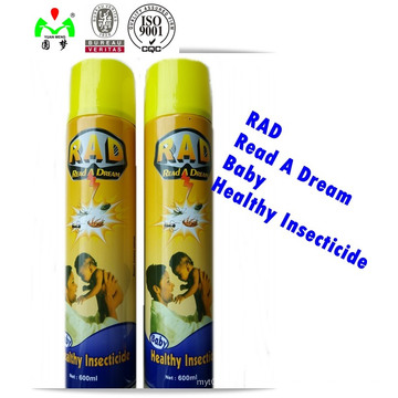 China Precio de Fábrica más vendido Insecticida Potente / Mosquito Killer Insecticide Spray