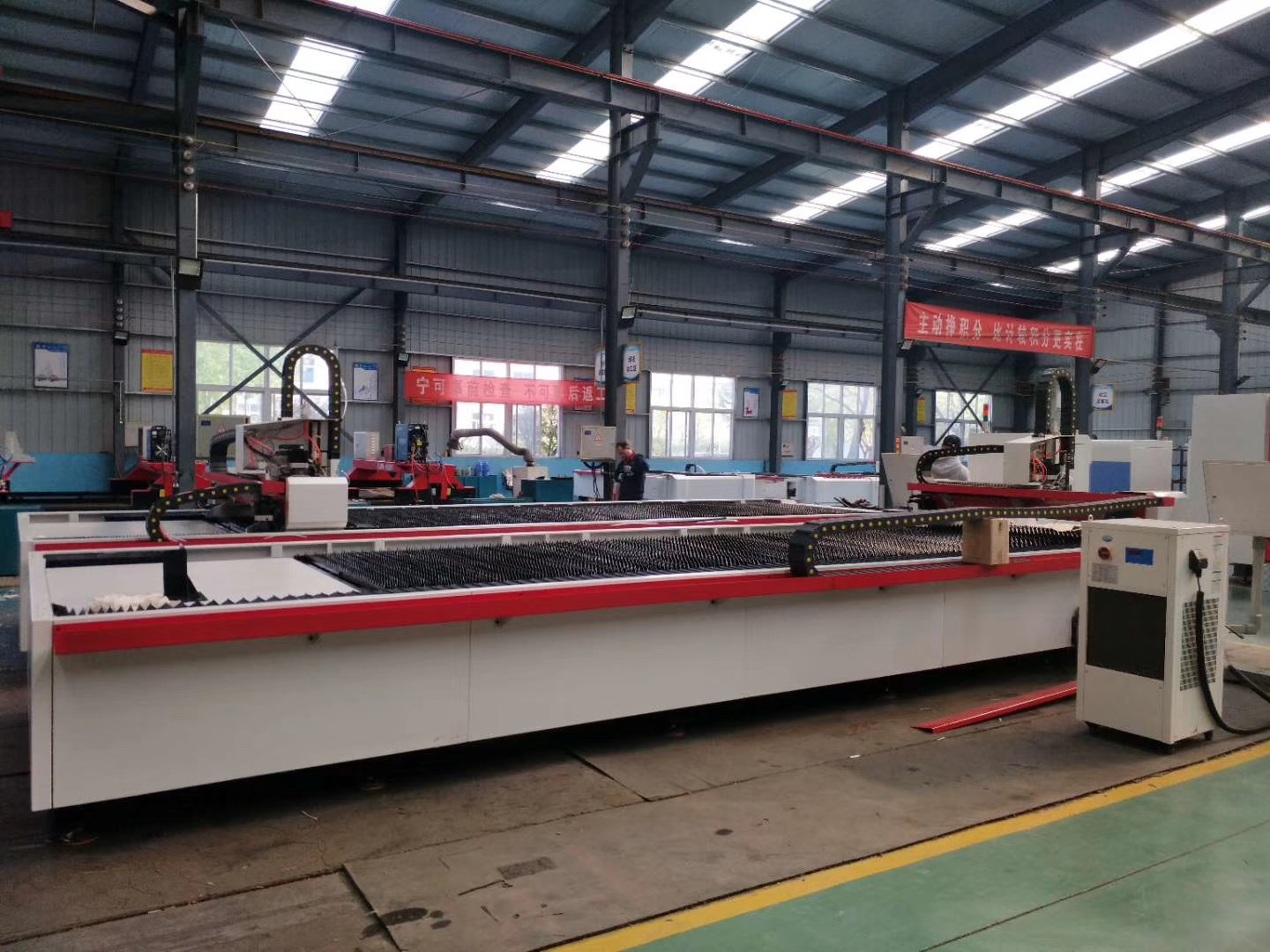 Environmental protection cutting machine local