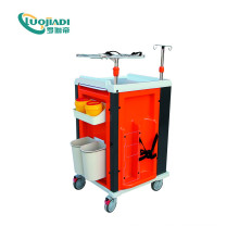 Moible Hospital ABS Stainless Steel Emergency Trolley
