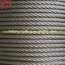 Galvanized carbon wire