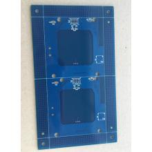 4 layer 1.6mm 1OZ blue solder ENIG PCB
