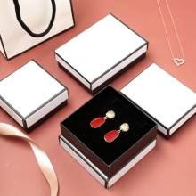 Дисплей Держатель коробки подарков Черно-белый