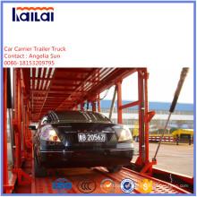 3 árboles del carro / SUV Carrier semi remolque para el mercado de Vietnam Asia
