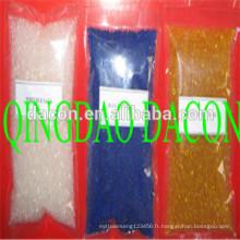 gel de silice déshydratant orange