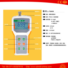 Flat Objects Meat Flour Dough Cheese Production Digital pH Meter