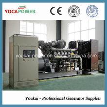 950kVA / 760kw generador diesel eléctrico refrigerado por agua de la generación de energía