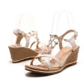 2013 Ladies Fashionable Sandal Shoe Chains With Clear Rhinestone for Women Shoes