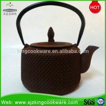 Bule de ferro fundido por atacado chinês / bule de chá de metal
