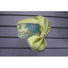Chapéus de festa formais cobertos de tecido para mulher