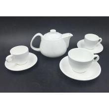 Ensemble de pot de thé en céramique à la main créé à la main
