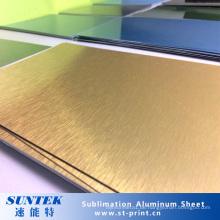 Personalisierte Sublimation Blank Aluminiumblech