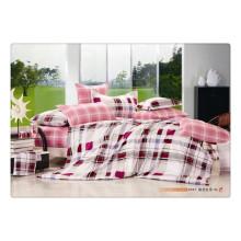 100 Baumwolle 40s 128 * 68 Luxus weiche Qualität Pigment Druck russische Bettwäsche
