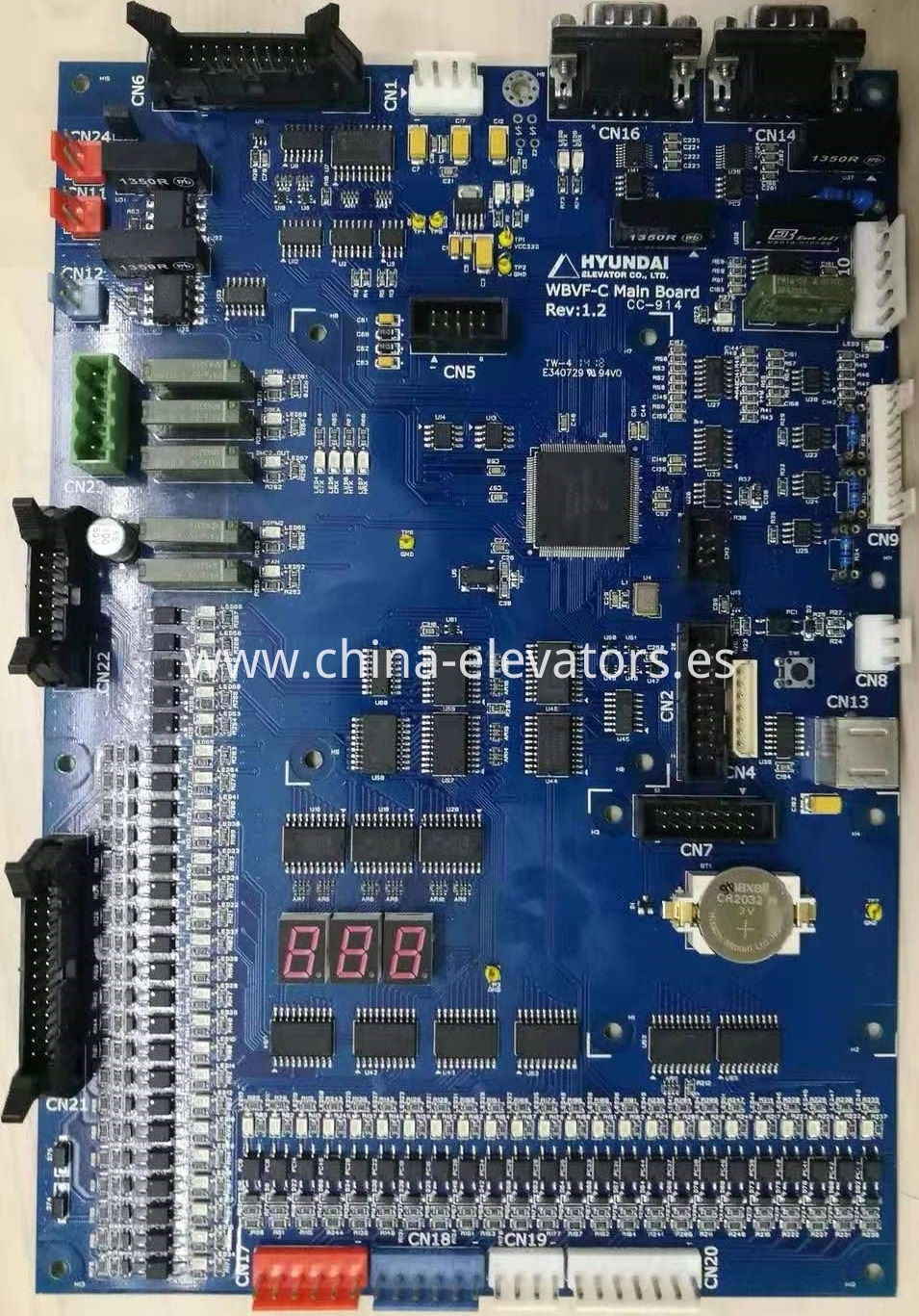 Hyundai WBVF-C Main Board Rev:1.2 / CC-914