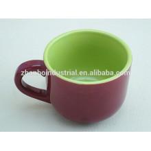 Tazas y platillos de café espresso de alta calidad de cerámica