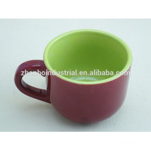 Керамические чашки кофе эспрессо высокого качества и блюдца