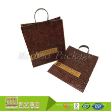 High Quality Custom Logo Boutique Shopping Heavy Duty Handle Hard Plastic Bags Wholesale