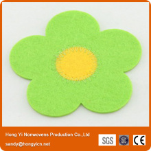 Nonwoven Fabric Laser Cutting Coaster