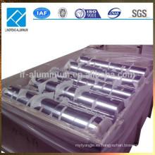 Lámina de aluminio para bolsas de embalaje resellables