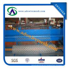 Cerca galvanizada do elo de corrente 50 * 50mm
