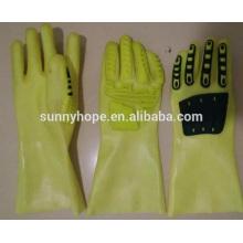 Масляные перчатки с защитой от воздействия солнечных лучей SunnyHope с покрытием из ПВХ