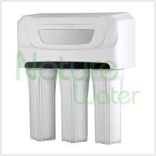 Boire le filtre à eau de RO avec le filtre de 5 étapes et le cas de preuve de la poussière