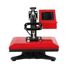 Swing Away Máquina manual de pressão elétrica pequena impressora de transferência de transferência térmica