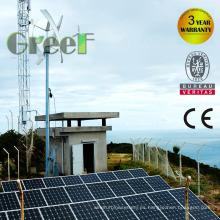 Sistema eólico solar híbrido de 5kw para uso en el hogar