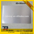 Sublimation metal Sheet silver printing aluminum material