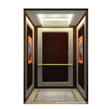 Moderate cost standard cabin passenger elevator lifts with high quality low noise