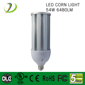 2700k-6500k 120lm/w 54w led corn light