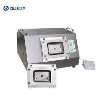 Sicherheits-geschlossenes Modell elektrisch angetriebene PVC-Karten-Schneidemaschine