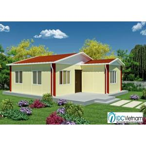 steel frame prefab houses in low cost