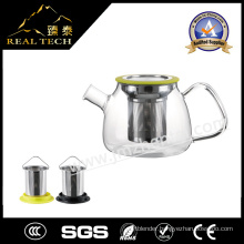 2016 New Hot Sale Glass Teapot with Filter Stainless