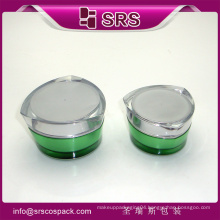 High quality and hot sales skincare acrylic jar for cream
