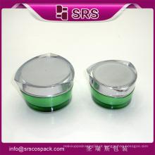 Alta qualidade e vendas quentes skincare frasco acrílico para creme