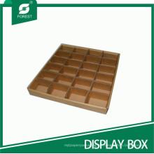 Benutzerdefinierte Spezifikation Display Tray mit Partition
