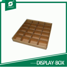 Custom Specification Display Tray with Partition