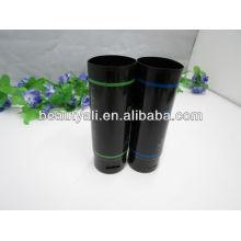 Tubo de embalagem cosmética para produtos de cuidado capilar