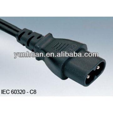 Potencia cables conectores de alimentación de PC C13