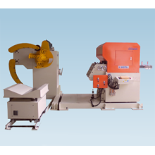 3 in 1 Nc Servo Sheet Metal Feeder Straightener and Uncoiler Machine