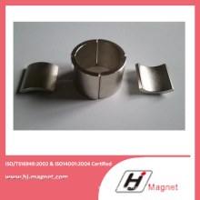 High Power Strong Neodymium Segment Magnet with ISO9001 Ts16949