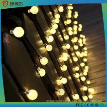 Luz impermeable de la secuencia de la bola del LED con el bulbo para la decoración al aire libre