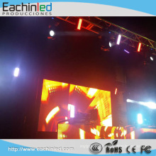 China Full Color Dispaly Indoor SMD Stage background p6 Led Screen