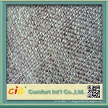 Tissu velours chinois bleu
