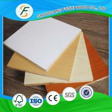 Red Melamine Paper Faced Chinese Plywood