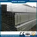 Preço de fábrica Tubo quadrado revestido de zinco / Q195-Q345 Tubo de aço quadrado e retangular preto
